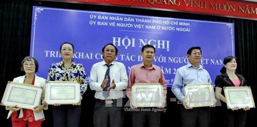 Mobiliser les Viet kieu au developpement socio-economique de HCM-Ville hinh anh 1