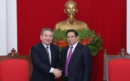 Le vice-president du Parti communiste du Japon en visite au Vietnam hinh anh 1
