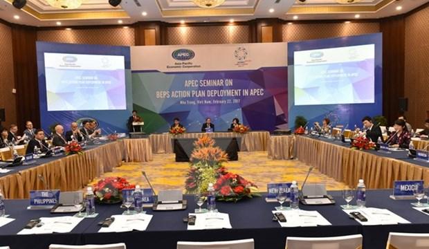 APEC: echange sur les mesures pour prevenir l'erosion de la base d'imposition hinh anh 1