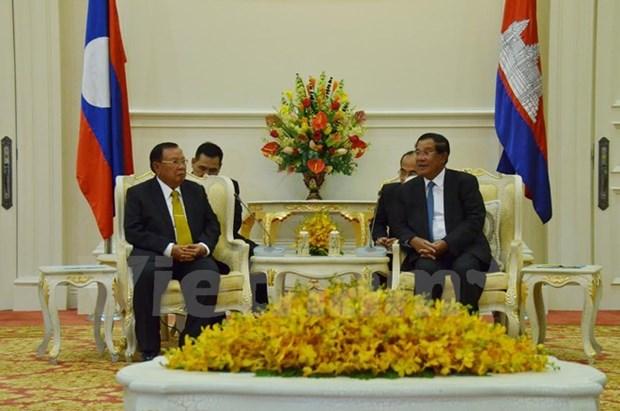 Le Cambodge et le Laos renforcent leur cooperation hinh anh 1