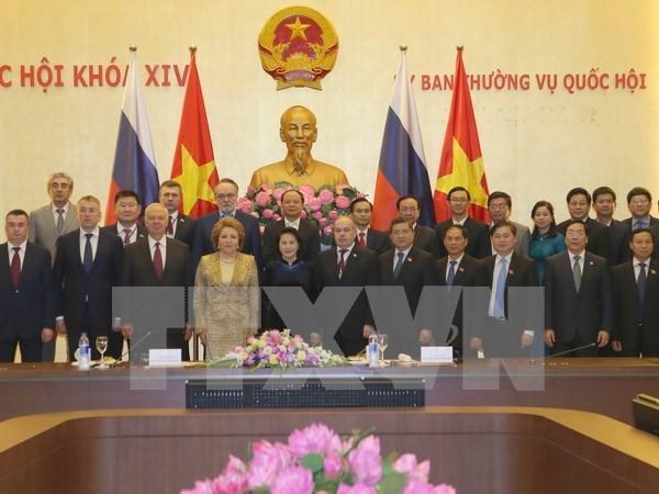 La presidente du Conseil de la Federation russe termine sa visite officielle au Vietnam hinh anh 1