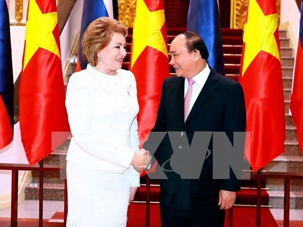Le Conseil de la Federation russe tient en haute estime les relations Russie-Vietnam hinh anh 1
