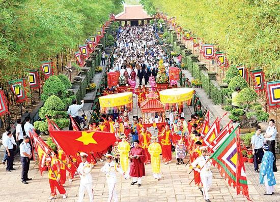 La fete du Temple des rois fondateurs Hung 2017 durera 6 jours hinh anh 1