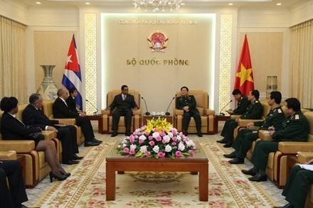 Vietnam et Cuba intensifient la cooperation dans le secteur de la cryptographie hinh anh 1