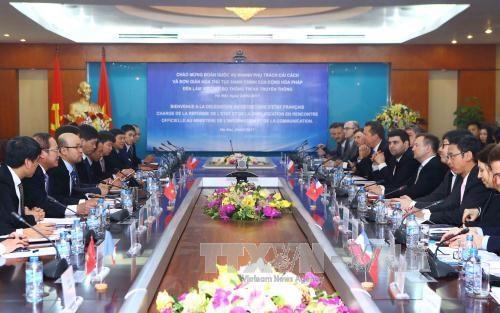 Le Vietnam et la France cooperent dans l'edification d'un e-gouvernement hinh anh 1