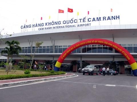 Pres de 3.000 miliiards de dongs pour le terminal international de l'aeroport de Cam Ranh hinh anh 1
