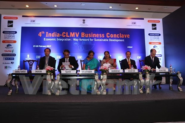 Le Vietnam participe au forum d'affaires Inde-CLMV a New Delhi hinh anh 1