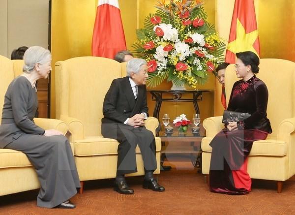 La presidente de l'AN souhaite une amitie plus etroite avec le Japon hinh anh 1
