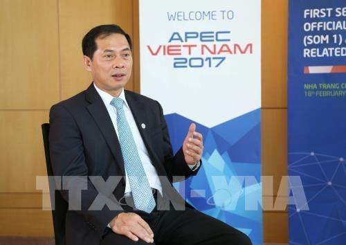 Le Vietnam contribue activement aux questions communes de l'APEC hinh anh 1