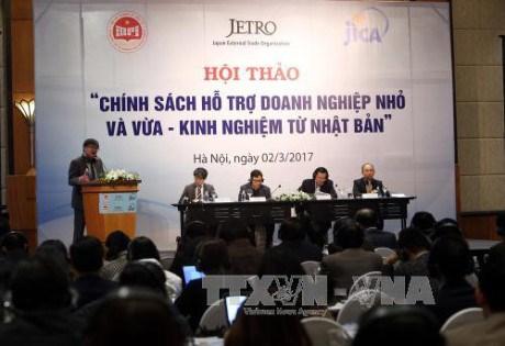 Le Vietnam et le Japon partagent des experiences d'assistance aux PME hinh anh 1