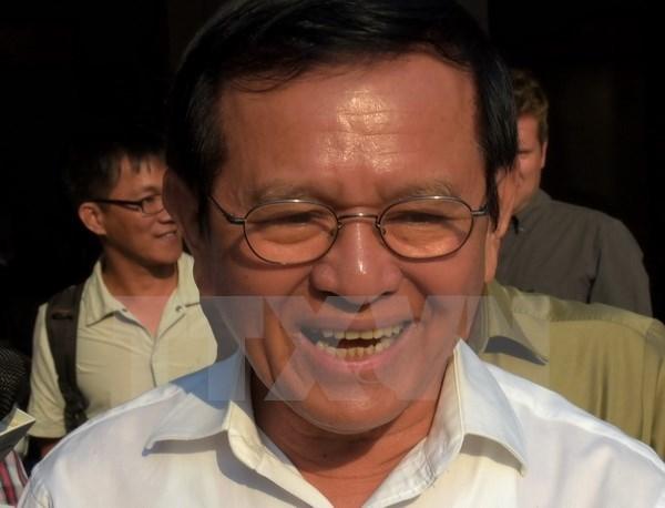 Kem Sokha elu officiellement president du CNRP hinh anh 1