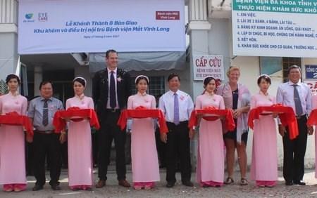 Des organisations neerlandaises soutiennent l'hopital d'ophtalmologie de Vinh Long hinh anh 1