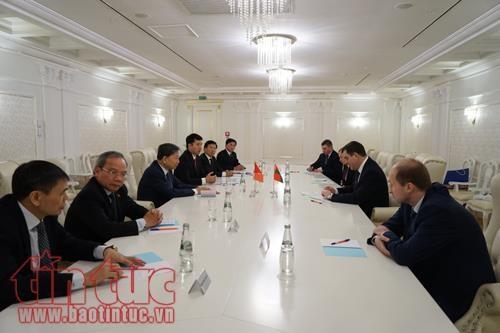 Une delegation du ministere de la Securite publique en Bieolorussie hinh anh 2