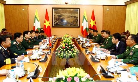 Dynamiser la cooperation Vietnam-Myanmar dans la defense hinh anh 2