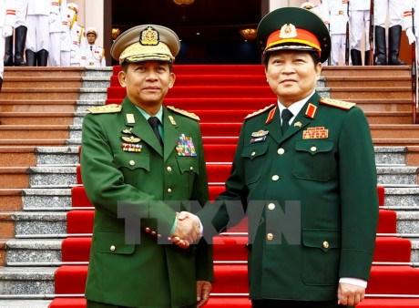 Dynamiser la cooperation Vietnam-Myanmar dans la defense hinh anh 1