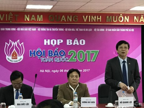 Bientot la fete nationale de la presse 2017 hinh anh 1