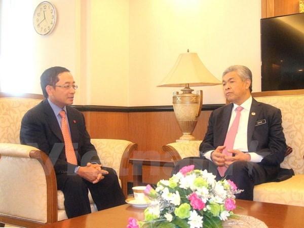 Le vice-PM malaisien souligne le potentiel enorme de la cooperation avec le Vietnam hinh anh 1