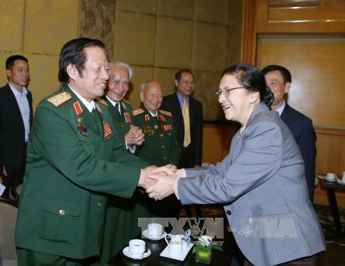 Les relations entre Vietnam et Laos sont toujours fideles et pures hinh anh 1