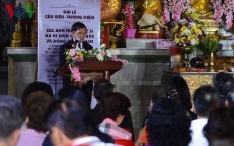 Thailande : Requiem pour les soldats vietnamiens tombes au champ d'honneur hinh anh 1