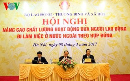 Ameliorer l'envoi de travailleurs vietnamiens a l'etranger hinh anh 1