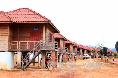 Village d'amitie des jeunes des frontieres, symbole de la solidarite Vietnam-Laos hinh anh 1