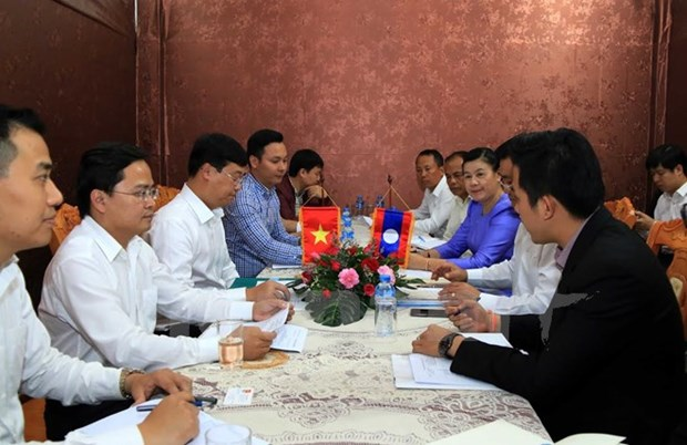 Cooperation renforcee entre les jeunes du Vietnam et du Laos hinh anh 1