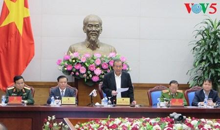 Visio-conference sur la lutte contre la contrebande et la contrefacon hinh anh 1