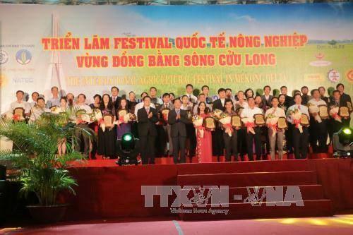 Le Festival international de l'agriculture du delta du Mekong ouvre ses portes hinh anh 1