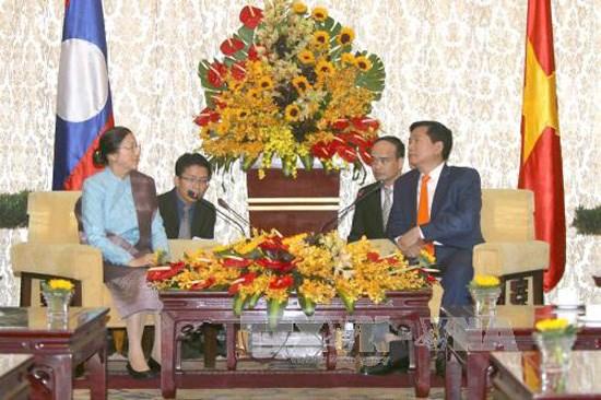 Ho Chi Minh-Ville souhaite intensifier la cooperation avec les localites laotiennes hinh anh 1