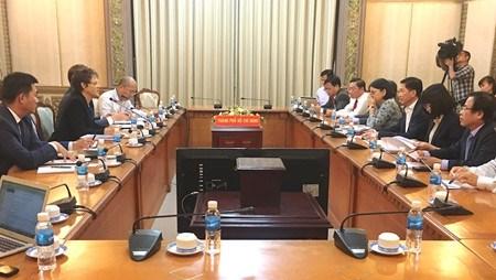 L'USTAD souhaite soutenir Ho Chi Minh-Ville dans l'edification d'une ville intelligente hinh anh 1