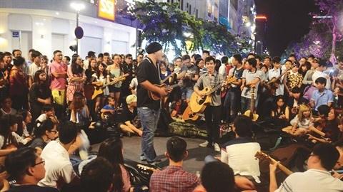 La tres attendue rue saigonnaise de la musique hinh anh 1