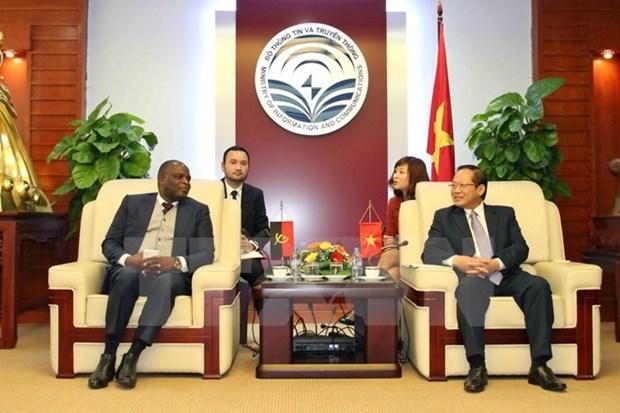 Vietnam et Angola cooperent dans les telecommunications hinh anh 1