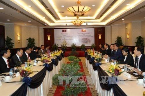 HCM-Ville et Houaphan (Laos) signent un proces-verbal de cooperation pour 2017-2020 hinh anh 1