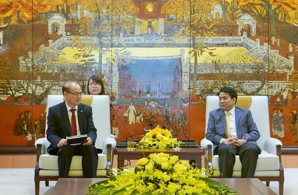 Hanoi s'engage a faciliter les activites des entreprises et organisations sud-coreennes hinh anh 1