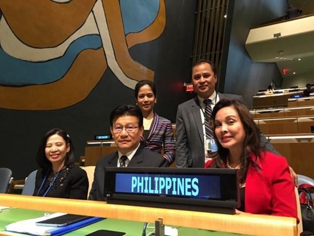 Les Philippines ratifient l'Accord de Paris sur les changements climatiques hinh anh 1