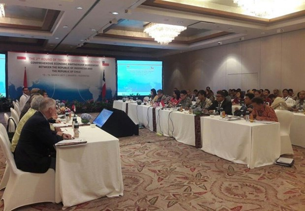Indonesie et Chili reprennent les negociations sur l'Accord de partenariat economique integral hinh anh 1