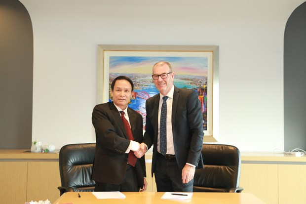 La VNA renforce sa cooperation avec l'Agence de presse de l'Australie AAP hinh anh 1