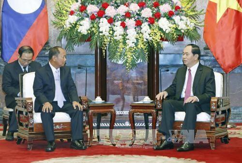 Securite et defense, domaine de cooperation majeur entre le Vietnam et le Laos hinh anh 1