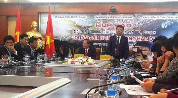 Quang Binh dans le cœur de Hanoi hinh anh 1