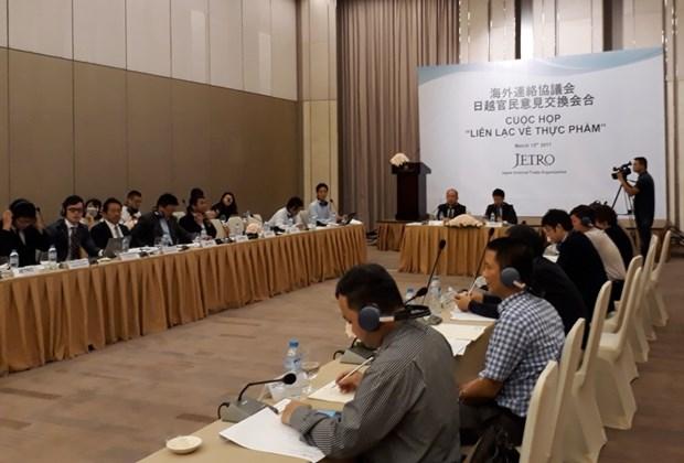 Dialogue avec les entreprises japonaises dans le domaine de l'alimentation hinh anh 1