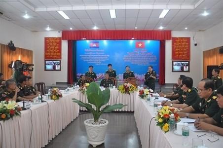 Vietnam-Cambodge : renforcer les liens entre les jeunes militaires hinh anh 1