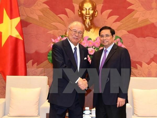 Les parlementaires vietnamiens apprecient l'amitie avec le Japon hinh anh 1