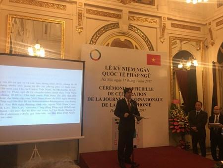 La Journee internationale de la Francophonie 2017 celebree a Hanoi hinh anh 2