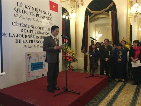 La Journee internationale de la Francophonie 2017 celebree a Hanoi hinh anh 1
