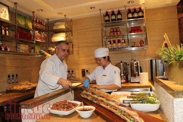 Presentation de la gastronomie vietnamienne en Inde hinh anh 1