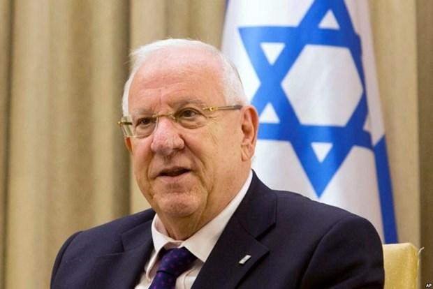 Le president israelien entame sa visite d'Etat au Vietnam hinh anh 1