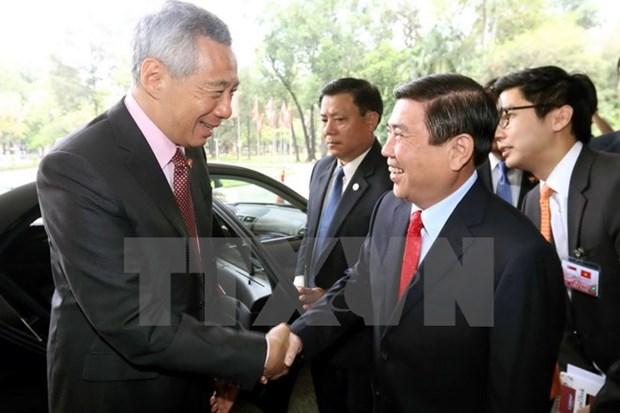 Ho Chi Minh-Ville favorise les activites des investisseurs singapouriens hinh anh 1