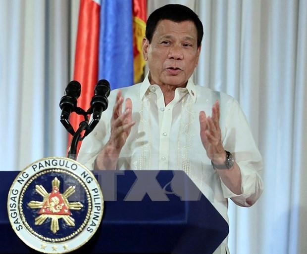 Le president philippin en visite officielle en Thailande hinh anh 1