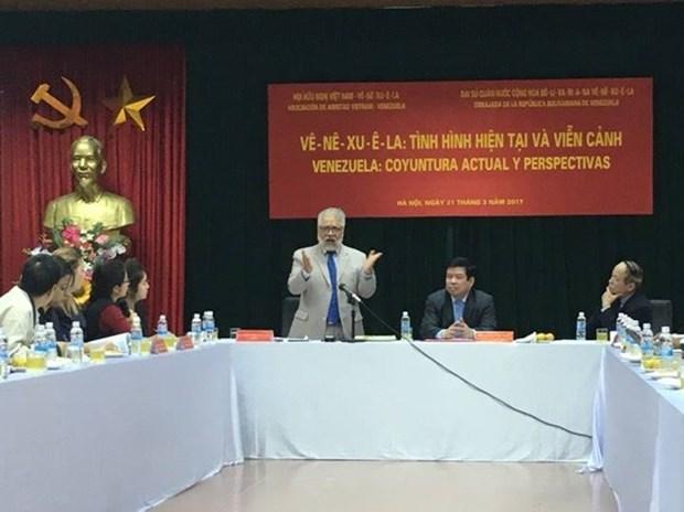 Table ronde sur le Venezuela a Hanoi hinh anh 1