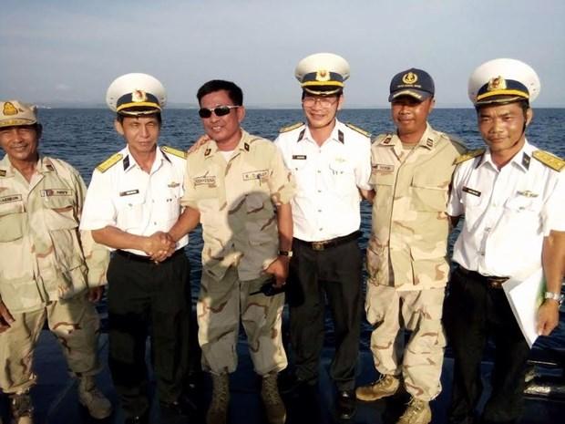 Vietnam et Cambodge realisent leur 46e patrouille navale hinh anh 1